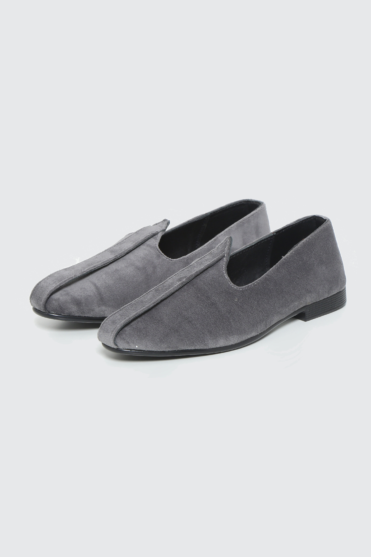 STEEL GREY VELOUR
