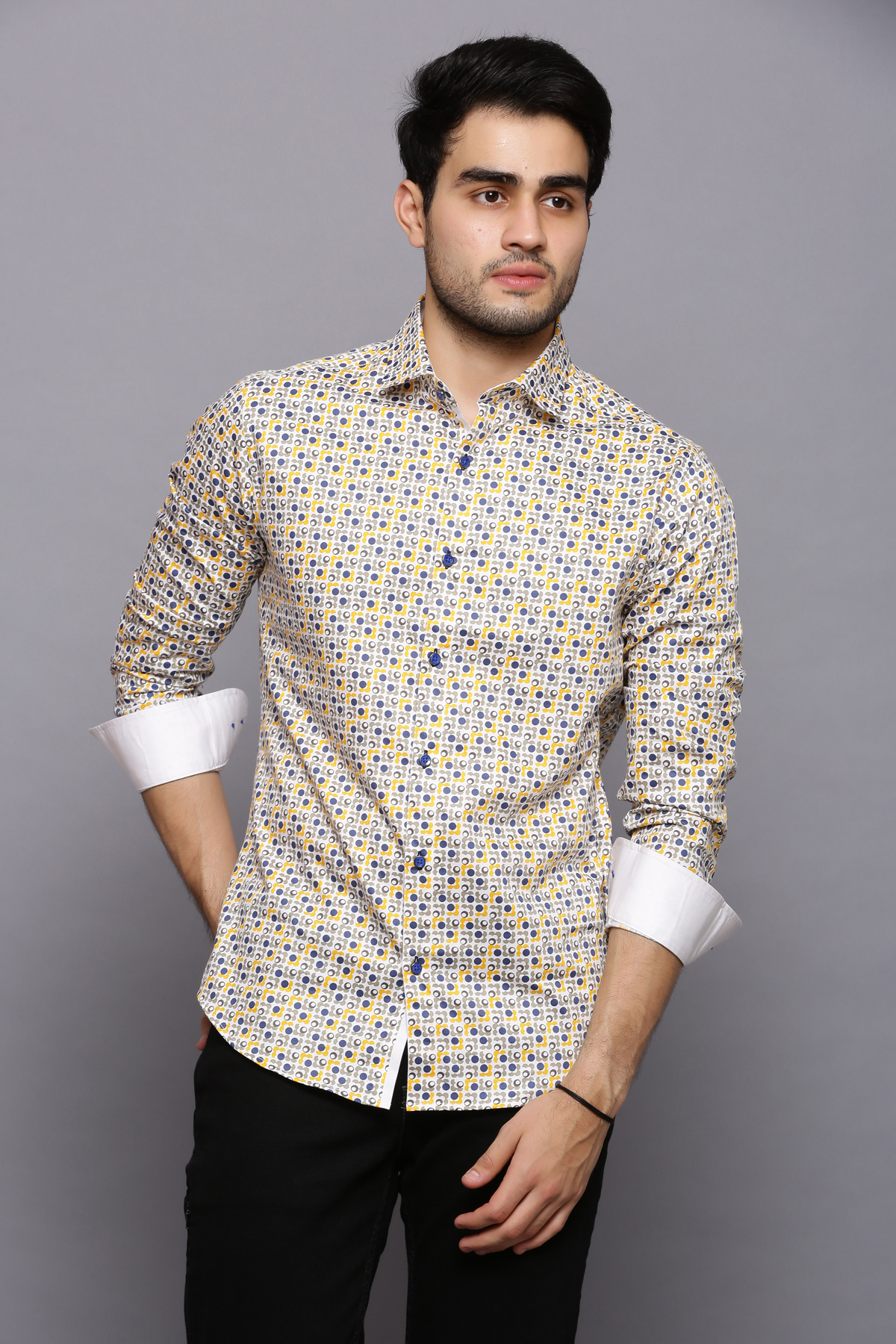 Dot Dot yellow shirt