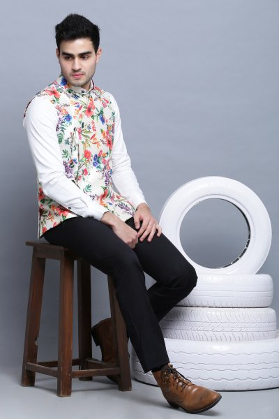 Floral Tradition Bagalbandh Jacket