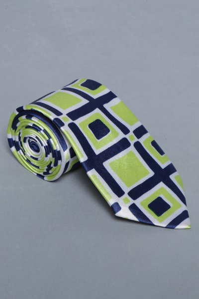 Brace  plaid tie & pocket square